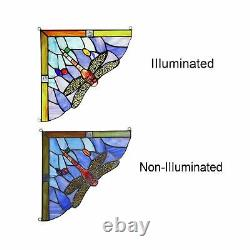 Capulina Hand-Crafted Stained Glass, Tiffany Stained Glass Window Panels, Ide