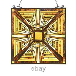 Capulina Victorian Handcrafted Stained Glass Windows Panels Hangings Art Enhance