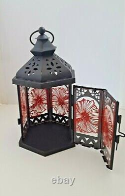 Lanterns Handcrafted glass panels made with Fused Glass