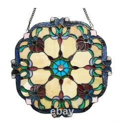 Stained Glass Window Panel 18 Handcrafted Tiffany Style ONLY ONE THIS PRICE