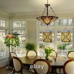 Victorian Handcrafted Stained Glass Windows Panels Hangings Art Enhance Home